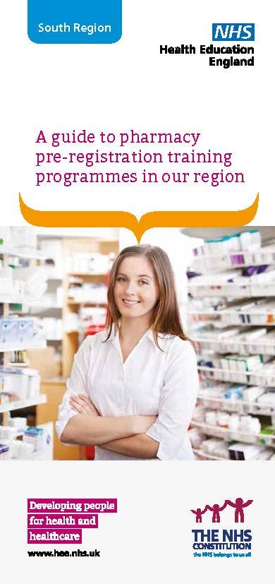 Pre-Registration Trainee Pharmacist Acute Training Trusts : SWMIT